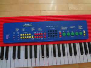 clavier pour enfants, 10 instruments, 10 rythmes différents