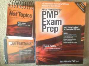 PMP EXAM PREP, PMP Fast track CD and Hot Topics flash cards