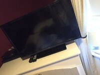 SEIKI 32' HD LED TV incl DVD player