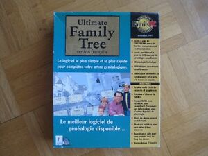 Ultimate Family Tree,  version française CD-ROM - GÉNÉALOGIE