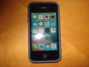 iPhone 4s,  In Mint Cond.   Unlocked, With Charger & Apple Box