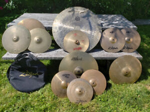 Complete Cymbal Set w/ GONG