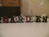 "Label your special ""GARDEN"""