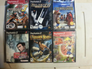 15  VIDEO  GAMES ... VARIOUS  TYPES