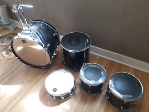 5 piece CB  drum kit w/ cymbal and hi hats. $150
