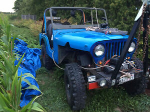 1971 jeep 5000 obo must go!!