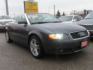 2003 Audi A4 3.0L,Convertible,Leather,Alloys