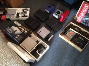 RETRO GAMING CONSOLES AND MORE!!