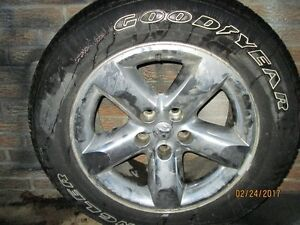4 Dodge ram rims and tires