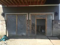 Looking to get two garage doors installed will pay cash