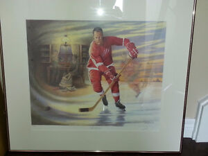 Mr. Hockey numbered print