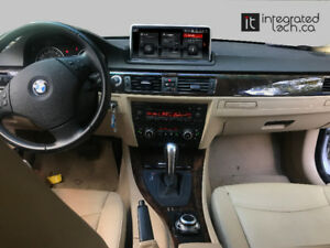 BMW E90 3 Series E90 91  Navigation Android Backup Camera