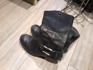 Genuine Leather boots size 11 $5