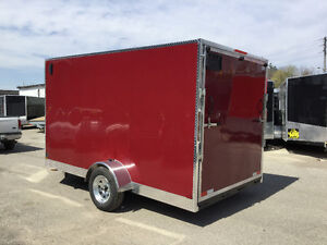 6' x 12' V-Nose Cargo Trailer • 3 Year Warranty • Made in Canada Kitchener / Waterloo Kitchener Area image 6