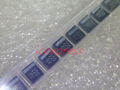 20pcs 3528 6.3v 220uf 227 B-type 10 Smd Tantalum Capacitors