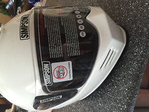 Simpson Outlaw Ghost Helmet