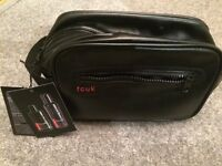 FCUK wash bag with Bodywash and Bodyspray