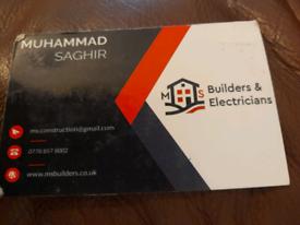 MS BUILDERS& ELECTRICIAN