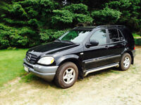 1999 Mercedes-Benz M-Class LX SUV, Crossover