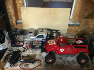Traxxas RC Truck Complete Package