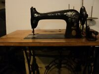 Antique Industrial  Singer sewing machine