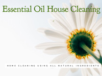 Essential Oil House Cleaning Service