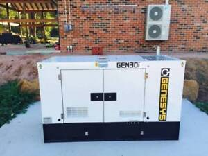 30KVA Isuzu Powered Generator 415V Diesel Laverton North Wyndham Area Preview