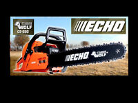 New Echo CS 590 Chainsaws with 18 in bar