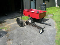 Riding Lawnmower Trailer, and other accessories!