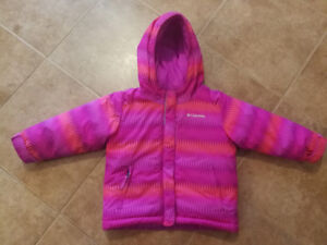 Columbia Kids Insulated Winter Jacket (3T,  great condition)