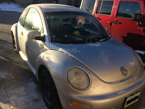 2001 Volkswagen Beetle GLS Coupe (2 door)