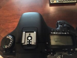 Canon 7D with Battery Grip, Two Batteries, Charger, BlackRapid Kitchener / Waterloo Kitchener Area image 5