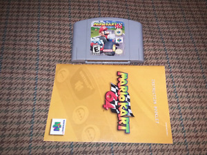 For sale Mario kart 64 with manual. 55 firm.