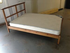 Ikea Bed Frame and Mattress.