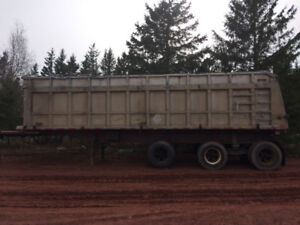 End dump trailer reduced to $3000