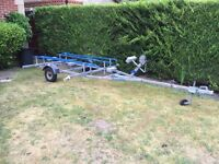 Snipe Rib, Inflatable, Jetski Boat Trailer.
