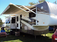 2007 Escalade 40' Fifth Wheel Trailer