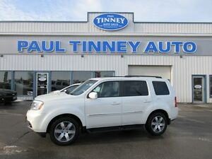 2012 Honda Pilot Touring 4WD 5-Spd AT with DVD Peterborough Peterborough Area image 2