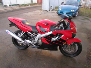 CBR 600F4 '99 Low KM Reliable