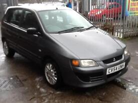 Mitsubishi Space Star 1.3 Mirage 1 PREVIOUS OWNER,MARCH 2018 MOT only 55000 mile