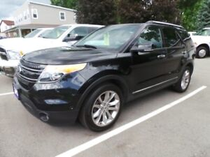 2013 FORD EXPLORER LIMITED, AWD, NAV, LEATHER, PAN ROOF, LOADED
