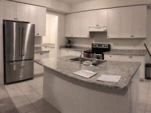 New White Shaker kitchen cabinets