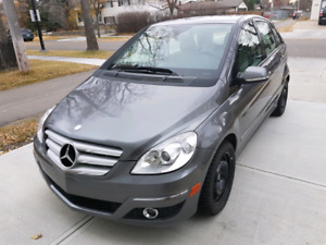 2009 Mercedes B200, winter ready!