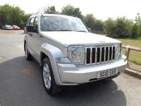 2010 Jeep Cherokee 2.8 TD Limited Station Wagon Auto 4x4 5dr