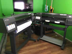 HP DESIGNJET PLOTTERS FOR SALE  X 2