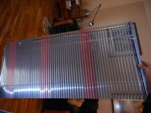 venetian mini blinds-vintage type shiny ones