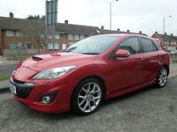 2010 Mazda Mazda3 2.3 MPS 5DR 60 REG Petrol Red