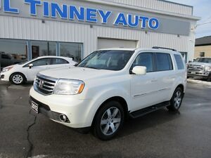 2012 Honda Pilot Touring 4WD 5-Spd AT with DVD Peterborough Peterborough Area image 3