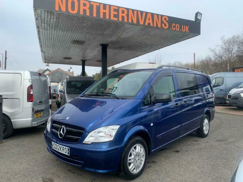 2012 Mercedes Benz Vito 116CDI Window Van PANEL VAN Diesel ...
