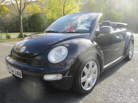 Volkswagen Beetle 1.6 S CABRIOLET PETROL MANUAL 2004/54